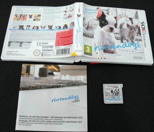 Nintendogs + Cats: Bulldog Francês 3DS