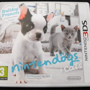 Nintendogs + Cats: Bulldog Francês 3DS