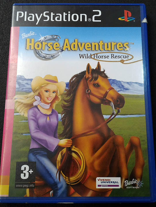 Barbie Horse Adventures: Wild Horse Rescue PS2