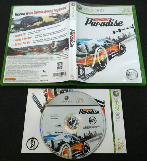 Burnout Paradise X360