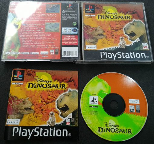 Disney's Dinosaur PS1