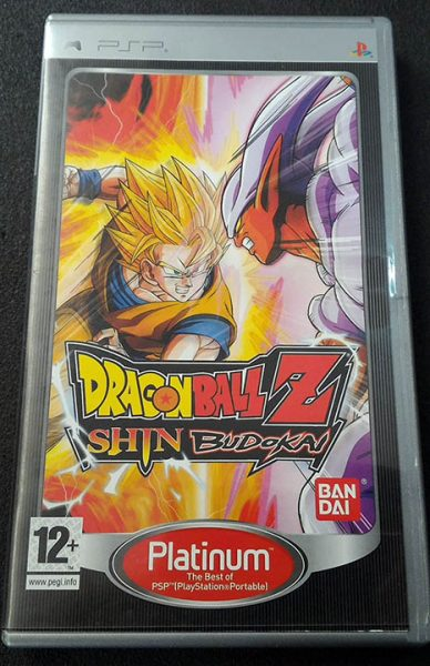 Dragon ball Z: Shin Budokai PSP