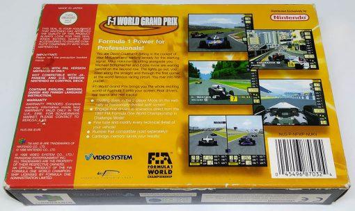 F-1 World Grand Prix N64