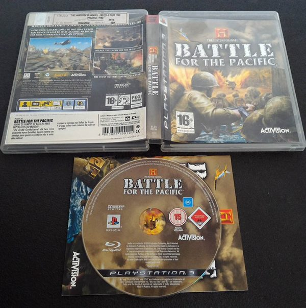 History Channel: Battle for the Pacific PS3
