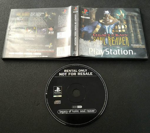 Legacy of Kain: Soul Reaver - Rental Copy PS1