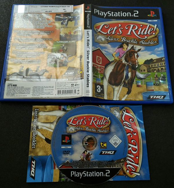 Let's Ride!: Silver Buckle Stables PS2