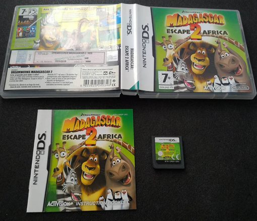 Madagascar: Escape 2 Africa NDS
