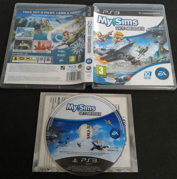 MySims Sky Heroes PS3