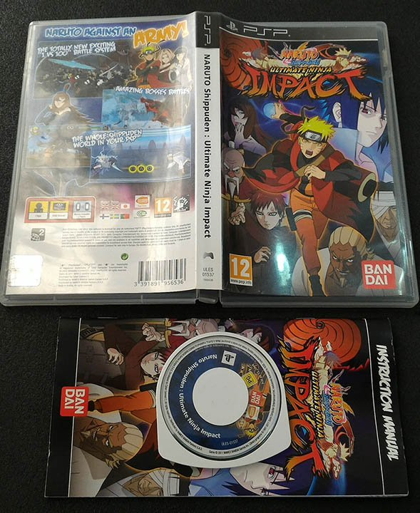 Naruto Shippuden: Ultimate Ninja Impact PSP