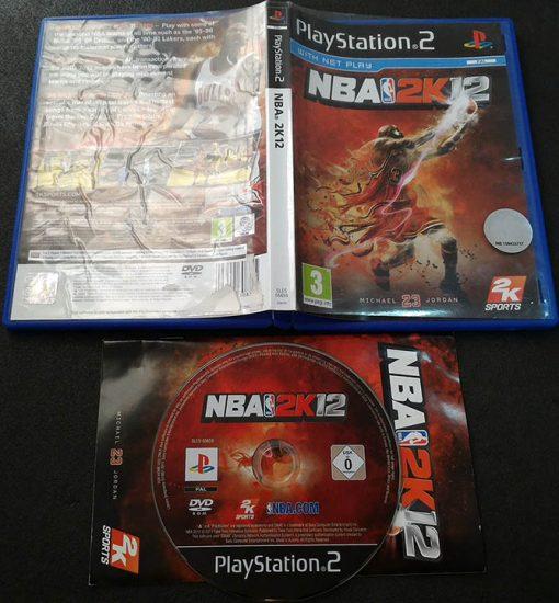 NBA 2K12 PS2