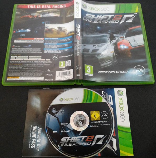 Need for Speed: Shift 2 Unleashed X360
