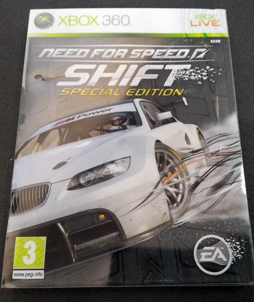 Need for Speed: Shift - Special Edition X360