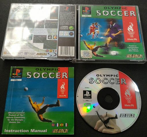 Olympic Soccer PS1