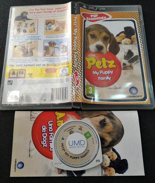Petz: My Puppy Family PSP