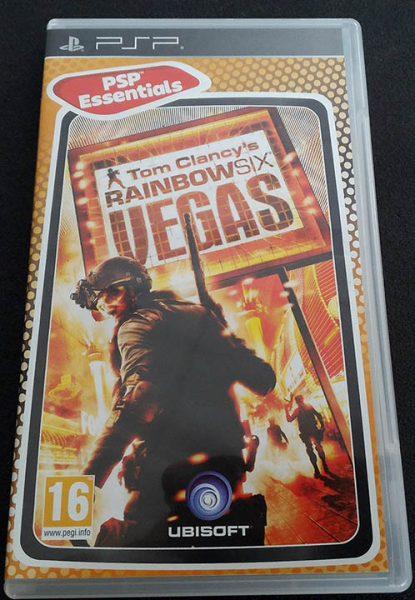 Rainbow Six Vegas PSP