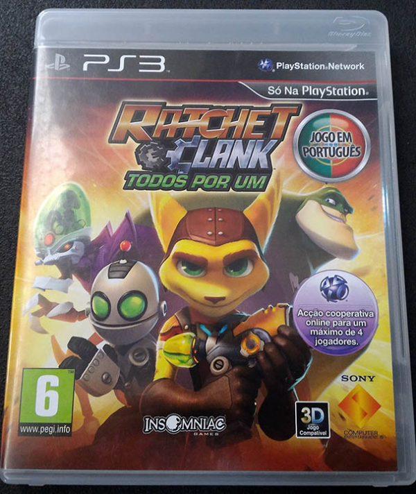 Ratchet & Clank: Todos Por Um PS3