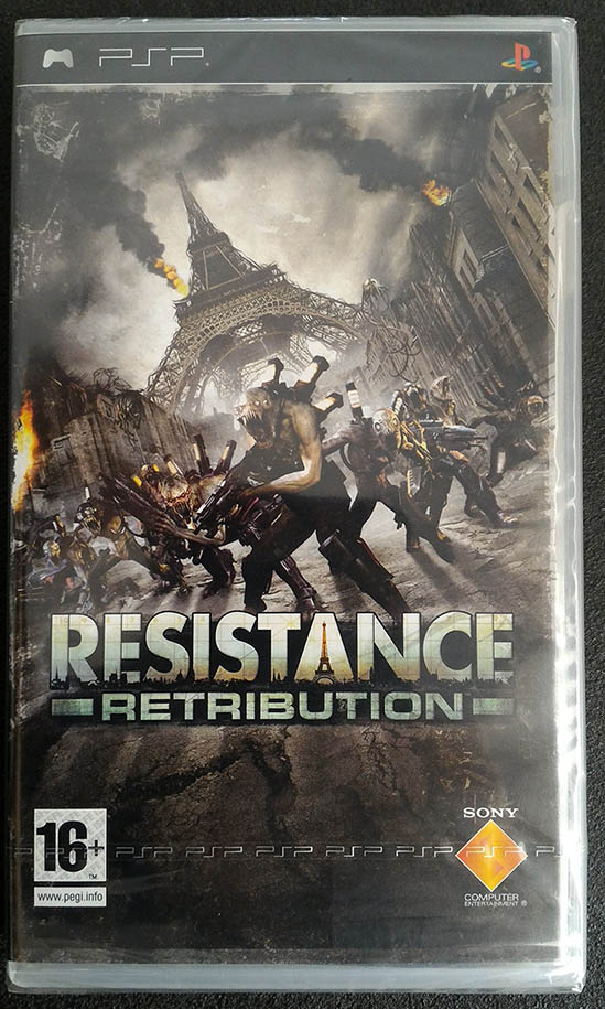 Resistance: Retribution PSP