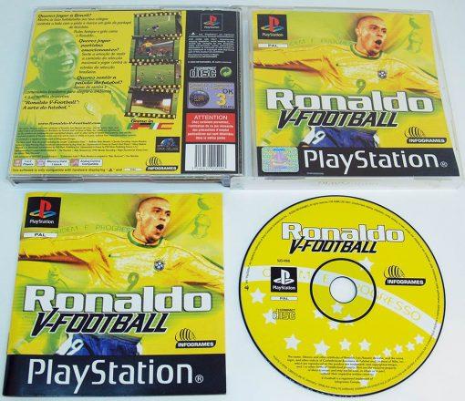 Ronaldo V-Football PS1
