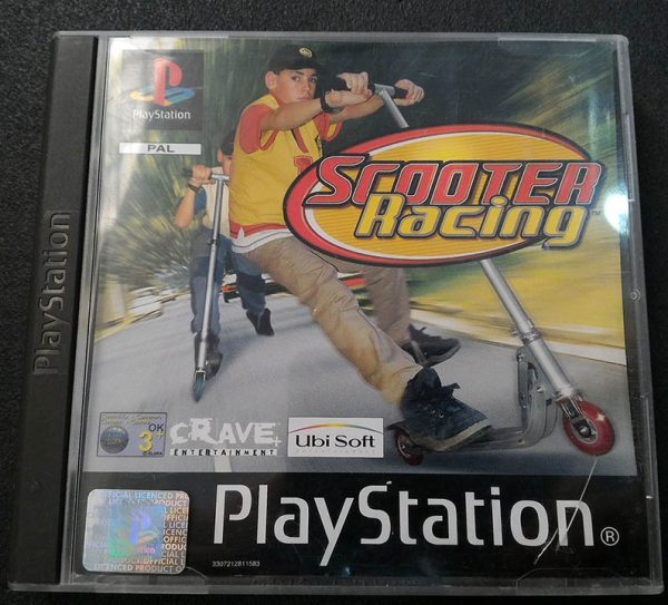 Scooter Racing PS1