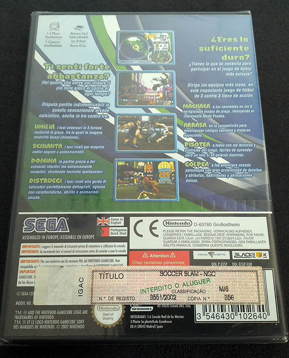 Sega Soccer Slam GAMECUBE