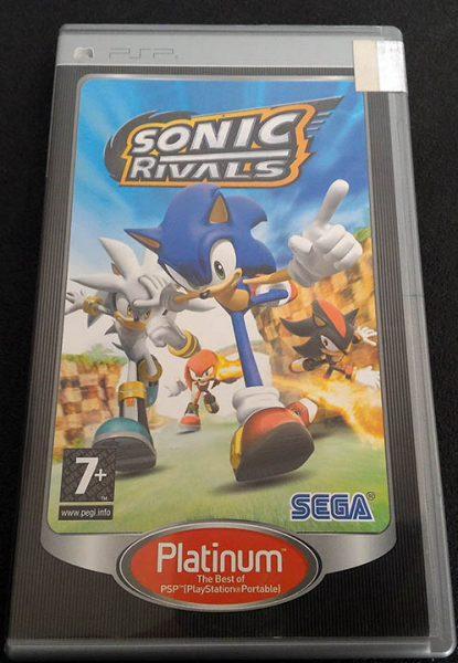 Sonic Rivals PSP