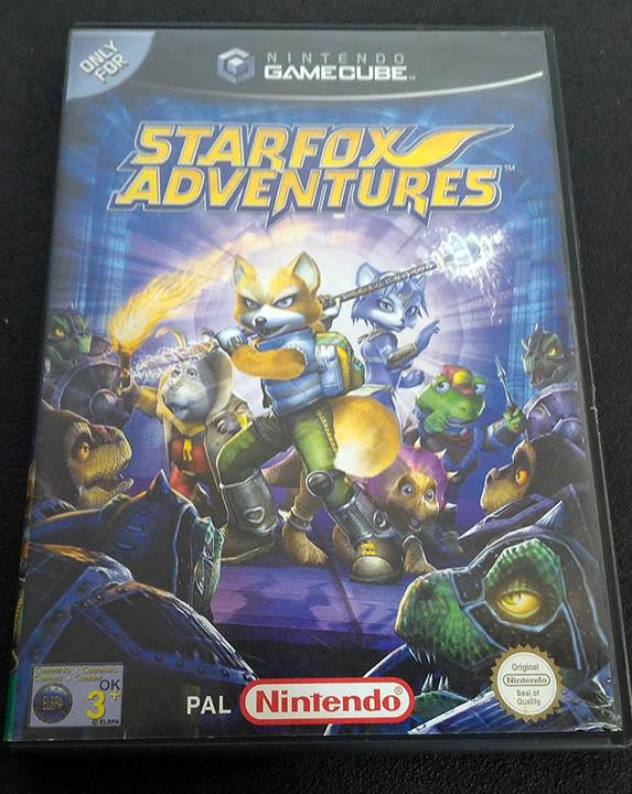 Star Fox Adventures GAMECUBE