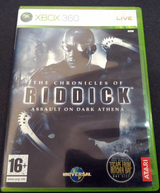 Chronicles of Riddick: Assault on Dark Athena X360