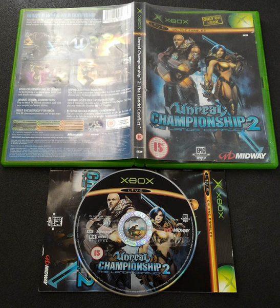 Unreal Championship 2: The Liandri Conflict XBOX