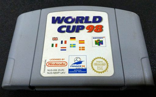 World Cup 98 N64
