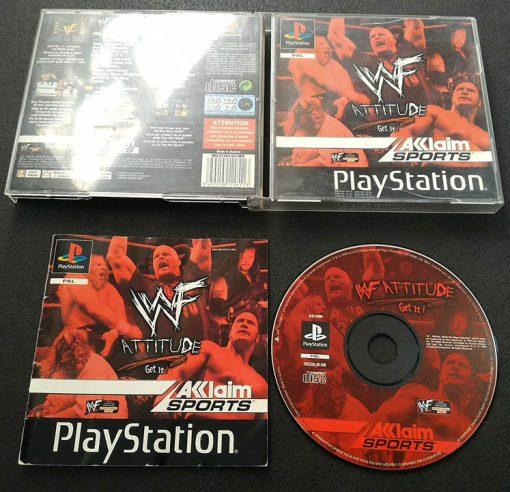 WWF Attitude PS1