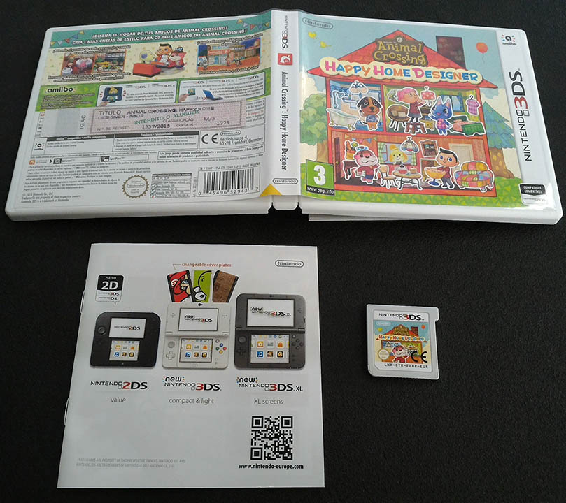 Animal Crossing Happy Home Designer 3ds Seminovo Play N 39 Play