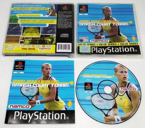 Anna Kournikova Smash Court Tennis PS1