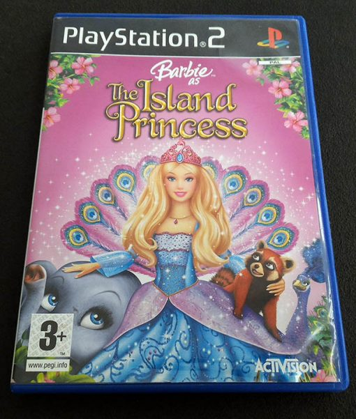 Barbie as the Island Princess PS2