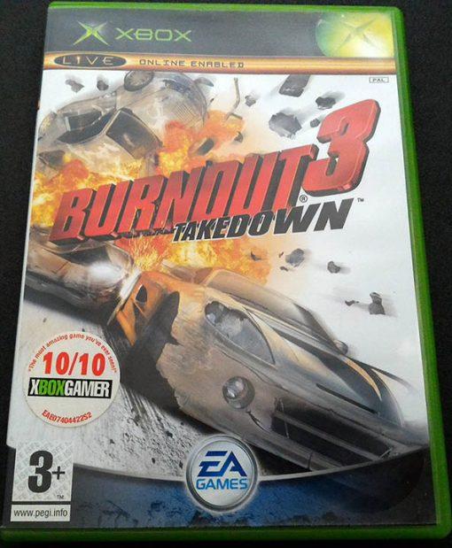 Burnout 3: Takedown XBOX