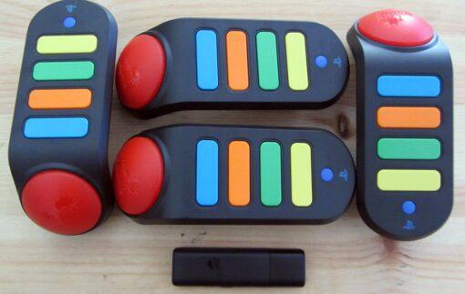 Campainhas Buzz Wireless Usadas Playstation 2 / Playstation 3