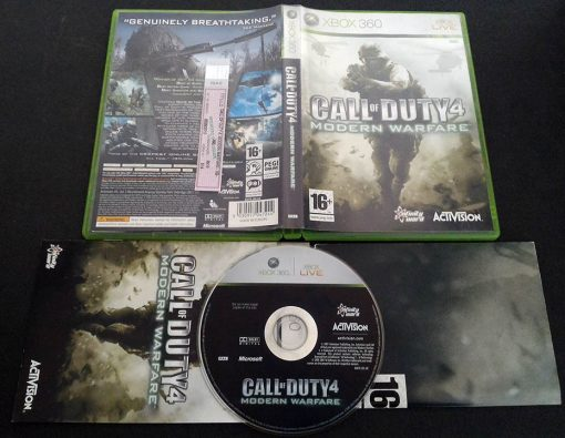 Call of Duty 4: Modern Warfare - Limited Edition X360