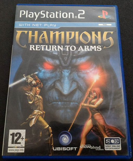 Champions: Return to Arms PS2