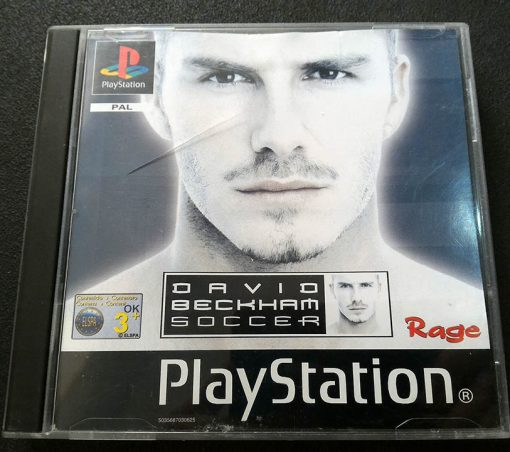David Beckham Soccer PS1