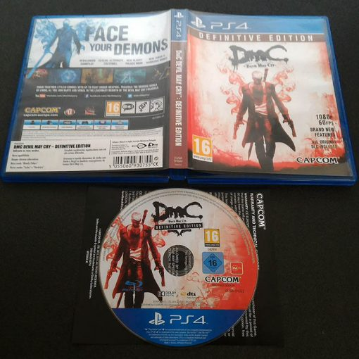 DmC: Devil May Cry - Definitive Edition PS4