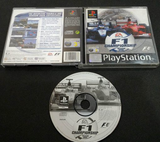 F1 Championship Season 2000 PS1