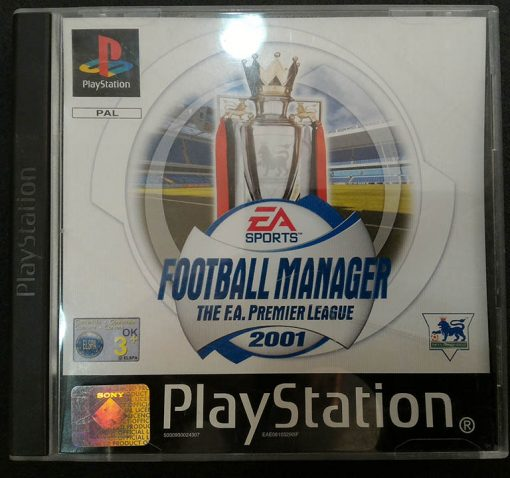 Football Manager 2001: The F.A. Premier League PS1