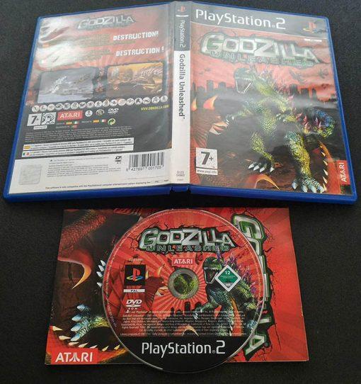 Godzilla Unleashed PS2