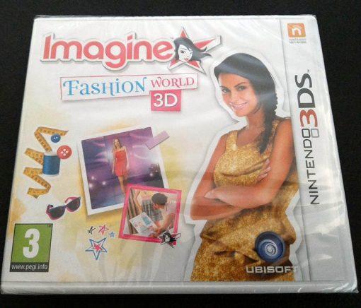 Imagine: Fashion World 3D 3DS
