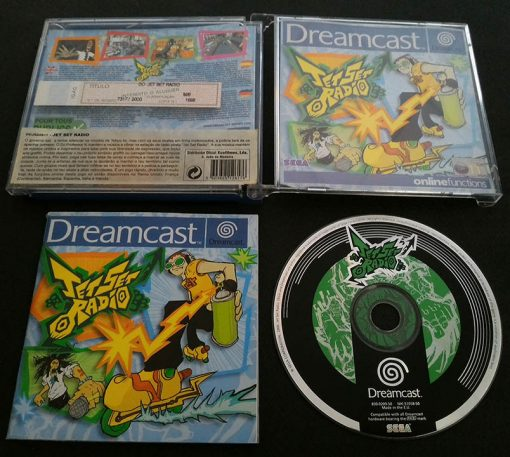 Jet Set Radio DREAMCAST