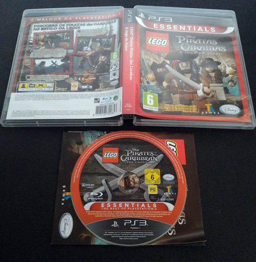Lego Piratas das Caraíbas PS3