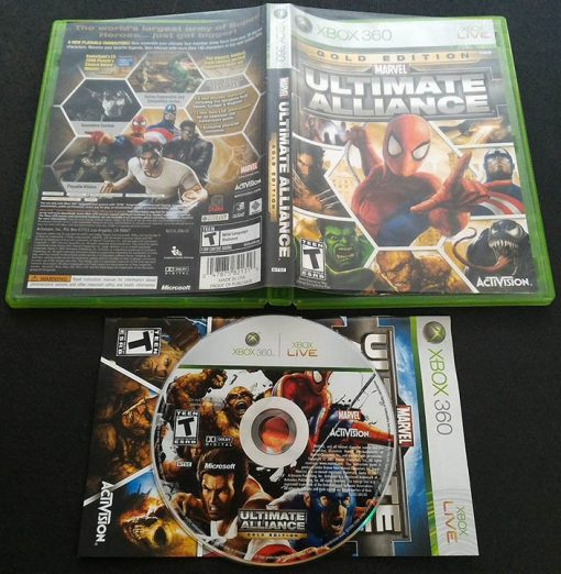 Marvel Ultimate Alliance - Gold Edition X360