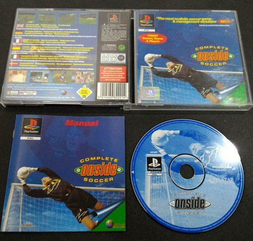 Complete Onside Soccer PS1