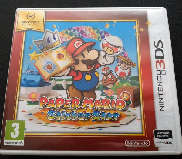 Paper Mario: Sticker Star 3DS