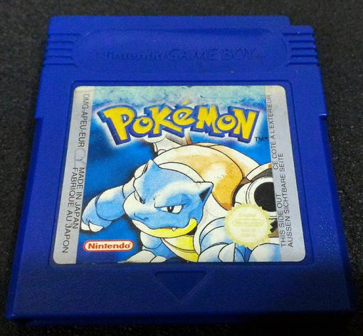 Pokémon Blue Version GAME BOY