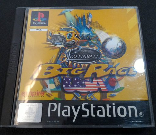 Pro Pinball: Big Race USA PS1